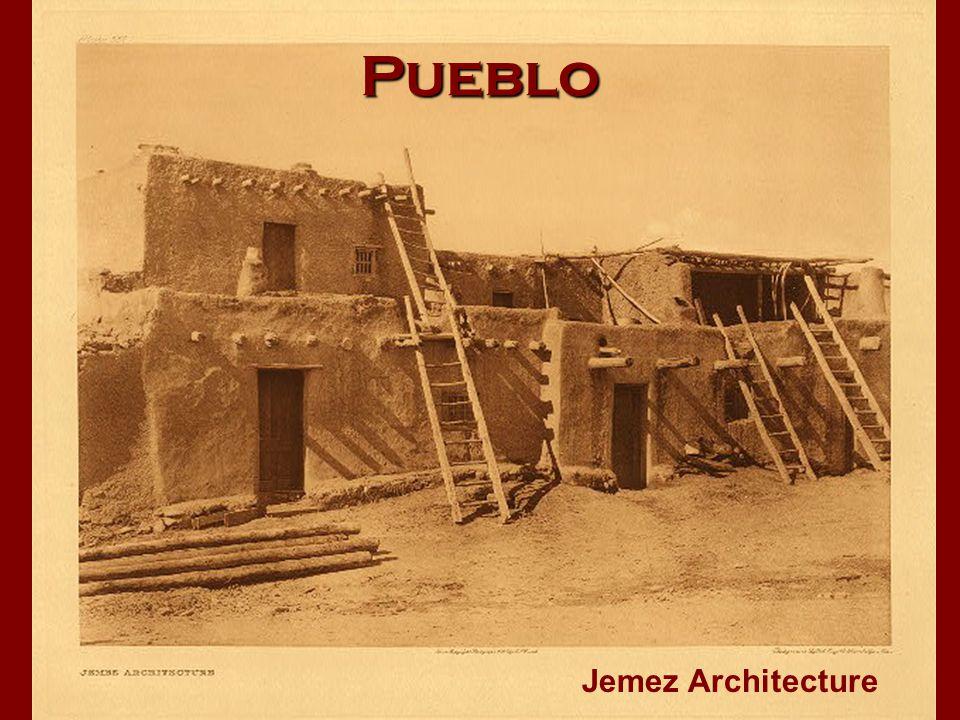 Pueblo Jemez Architecture
