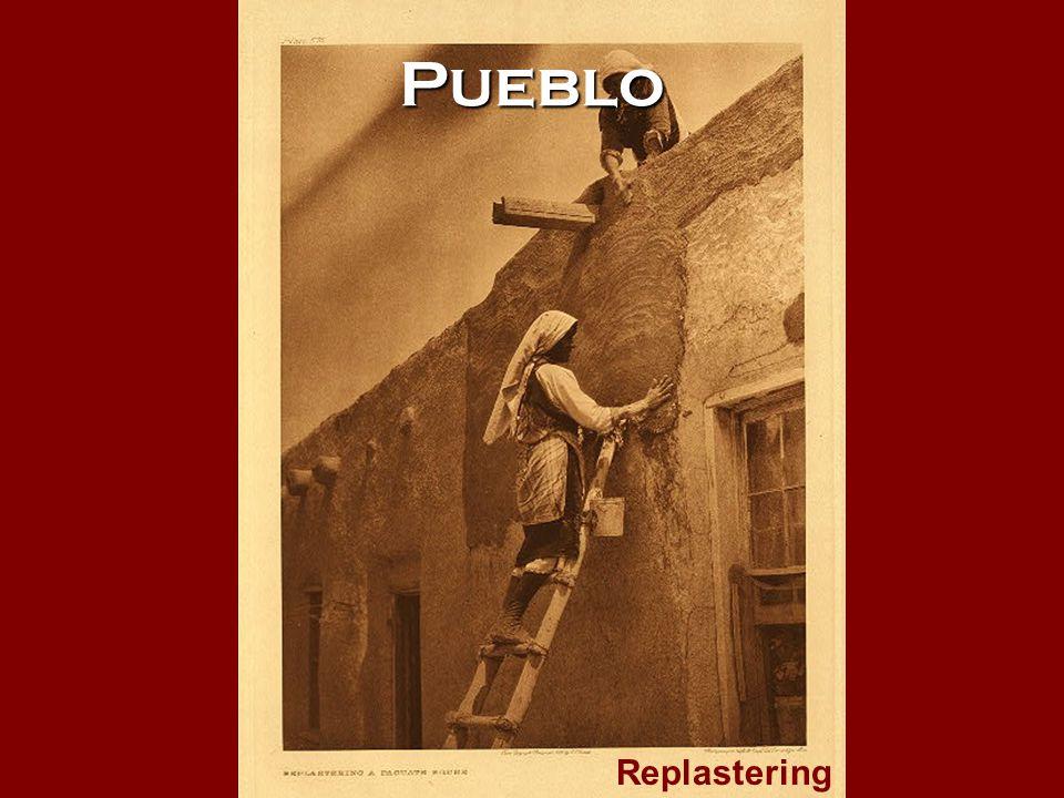 Pueblo Replastering