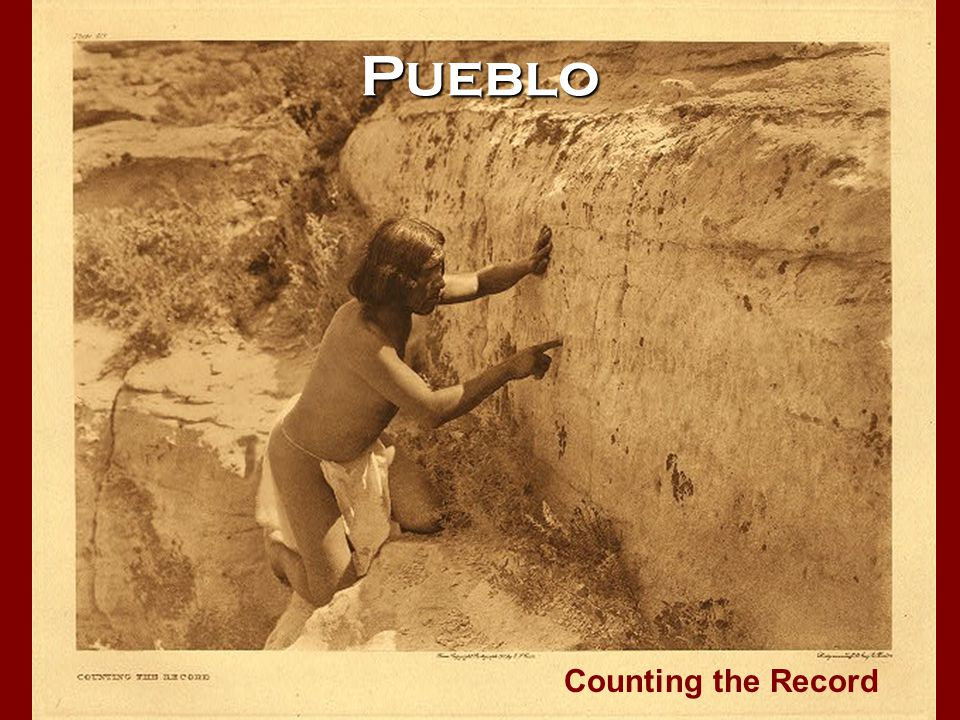 Pueblo Counting the Record