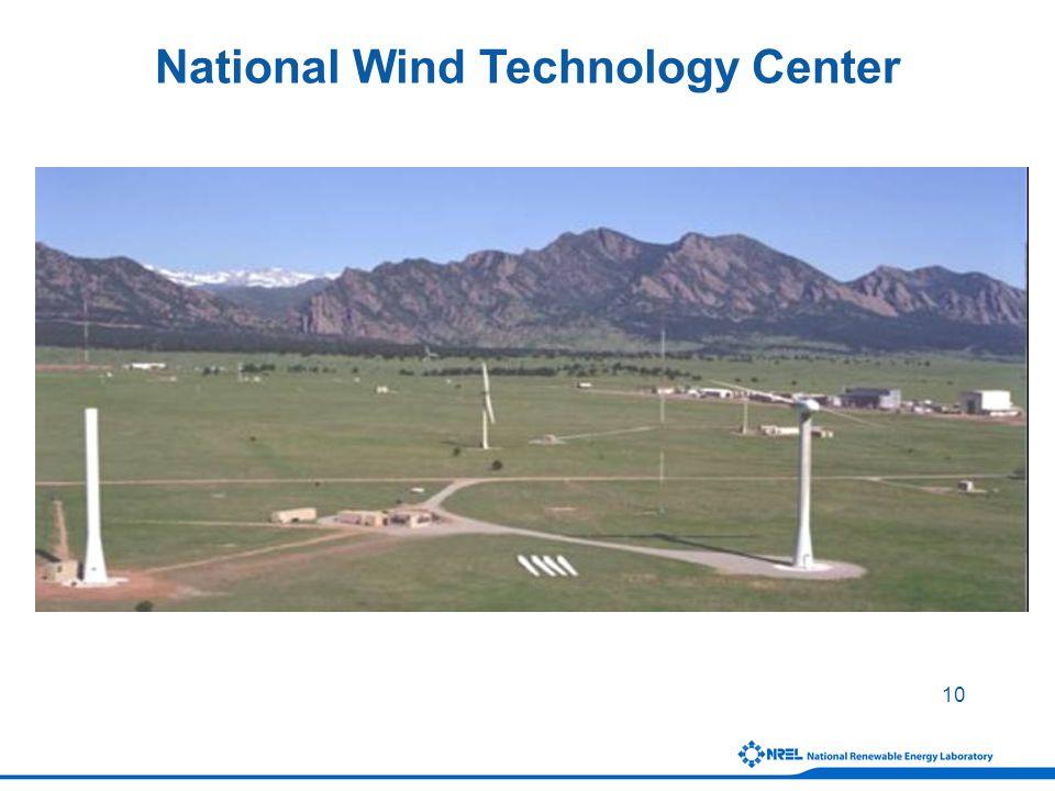 10 National Wind Technology Center