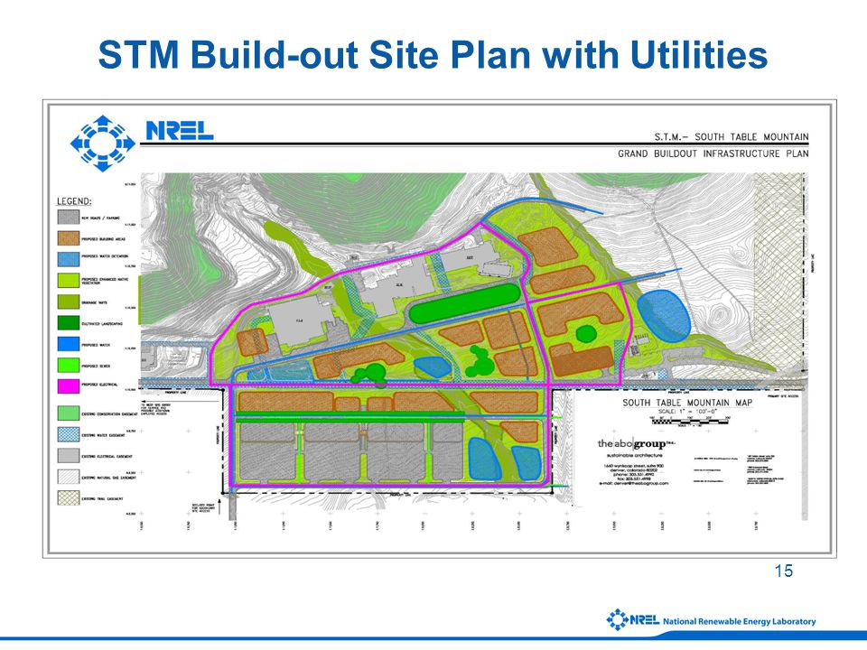 15 STM Build-out Site Plan with Utilities