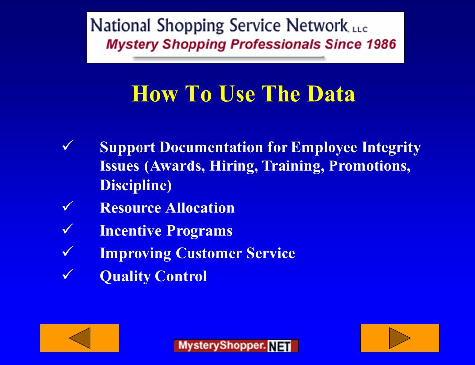 How To Use The Data Support Documentation for Employee Integrity Issues (Awards, Hiring, Training, Promotions, Discipline) Resource Allocation Incentive Programs Improving Customer Service Quality Control