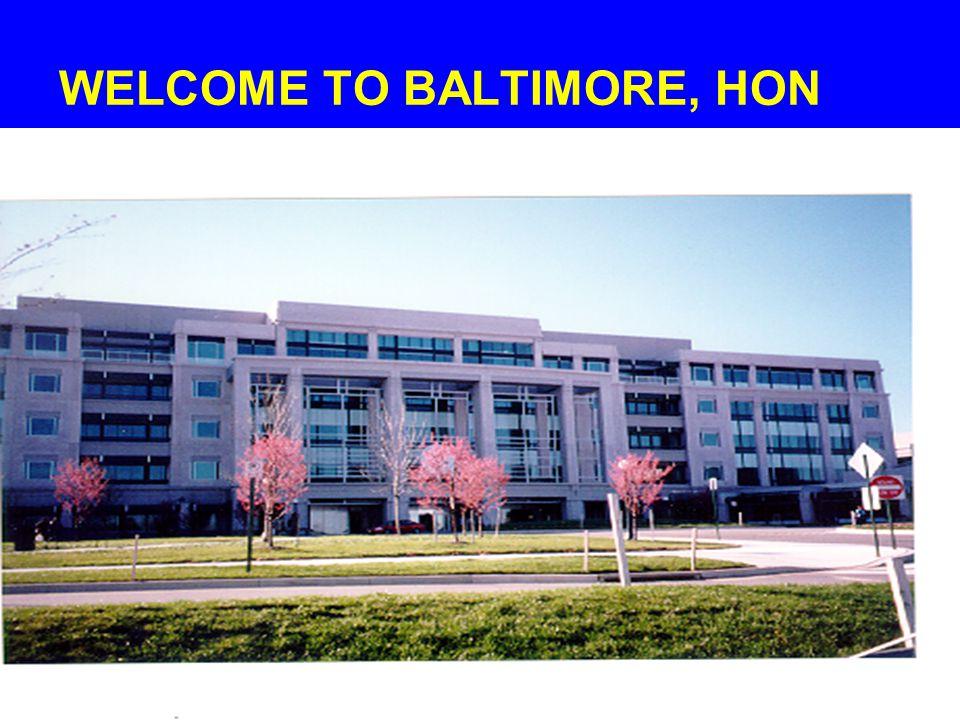 4 WELCOME TO BALTIMORE, HON