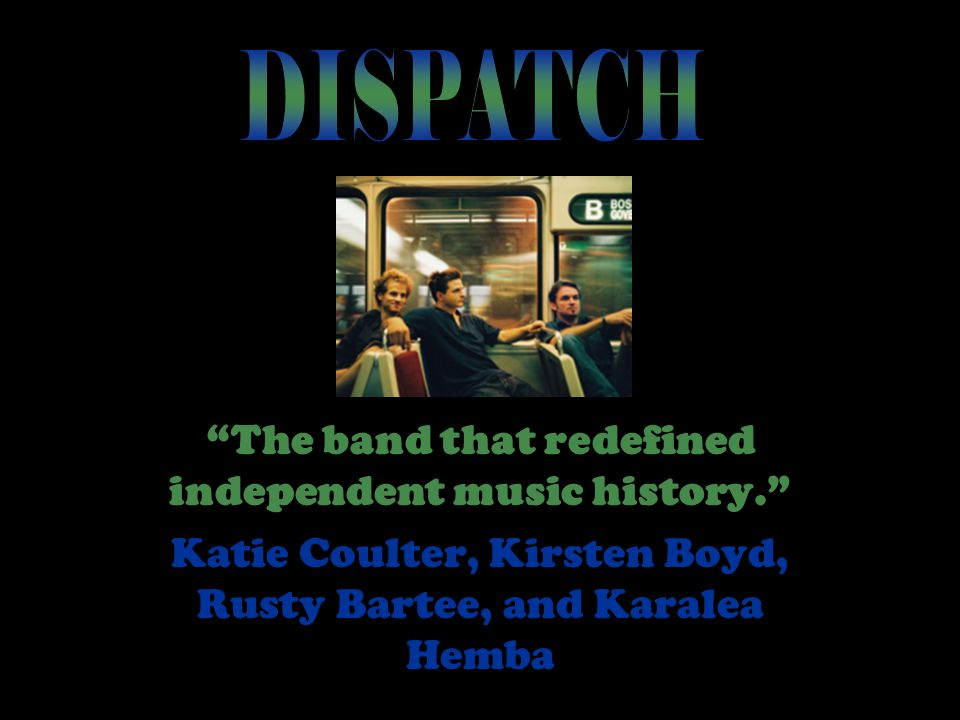 """The band that redefined independent music history."" Katie Coulter, Kirsten Boyd, Rusty Bartee, and Karalea Hemba"