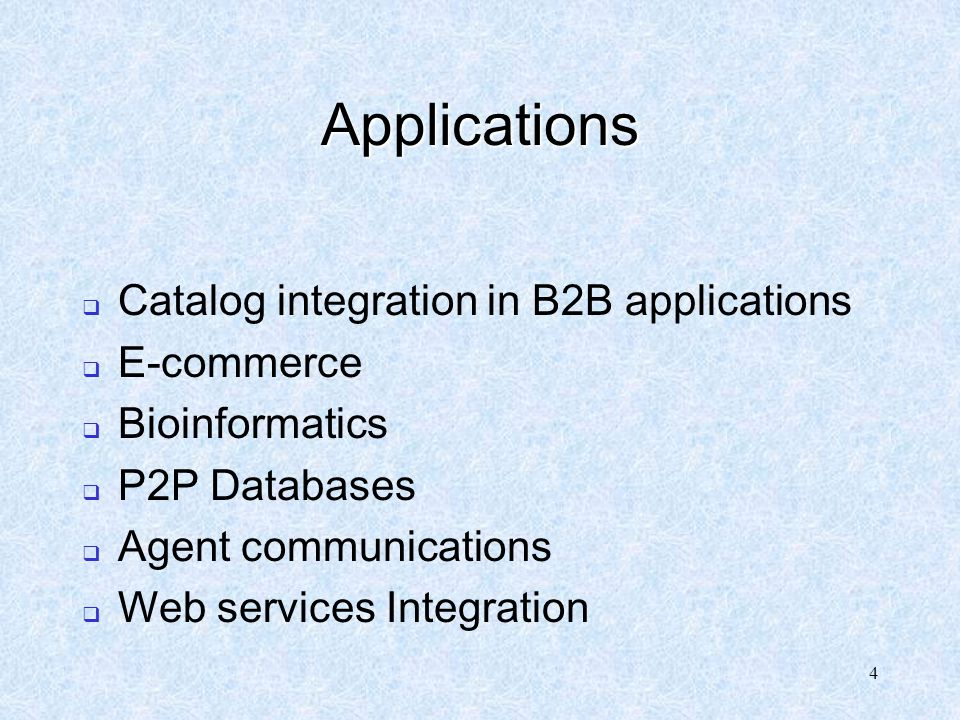25 Sources : Natalya F.Noy : Semantic Integration: A survey of Ontology- Based Approaches AnHai Doan, Alon Y.