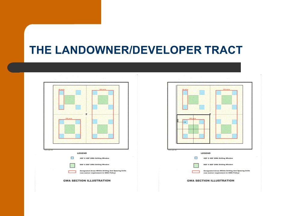 THE LANDOWNER/DEVELOPER TRACT