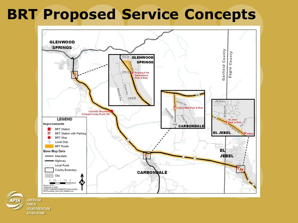 BRT Proposed Service Concepts
