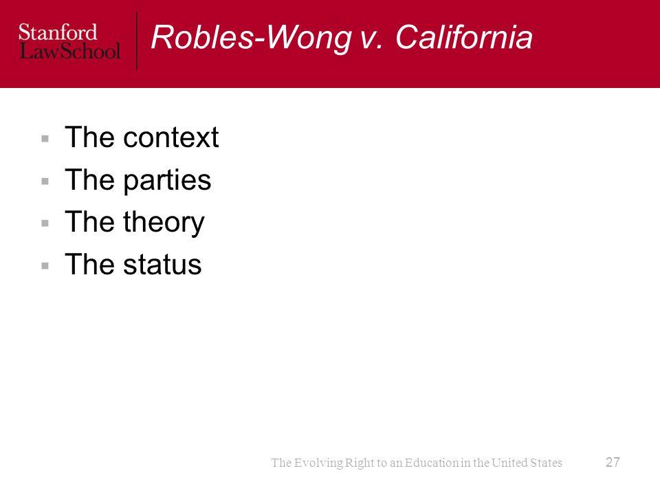 Robles-Wong v.