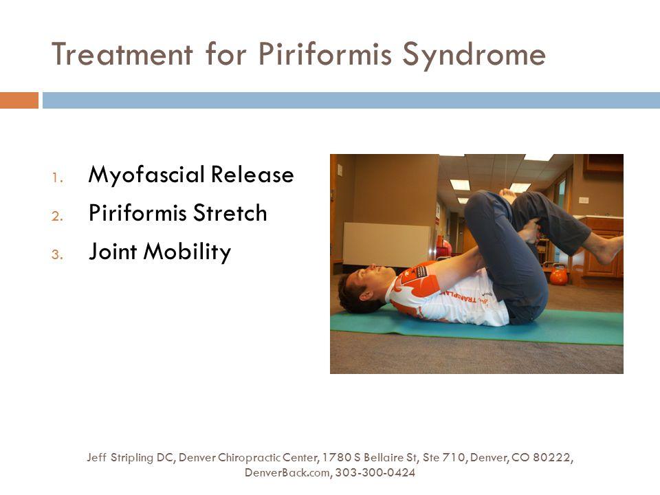 Treatment for Piriformis Syndrome Jeff Stripling DC, Denver Chiropractic Center, 1780 S Bellaire St, Ste 710, Denver, CO 80222, DenverBack.com, 303-30
