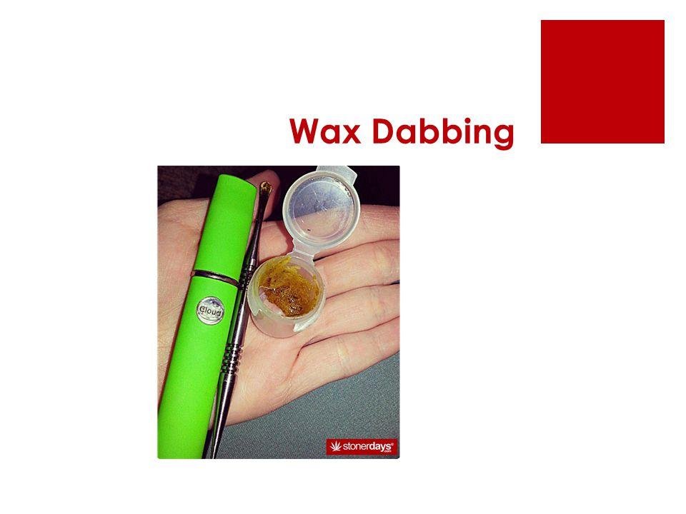Wax Dabbing