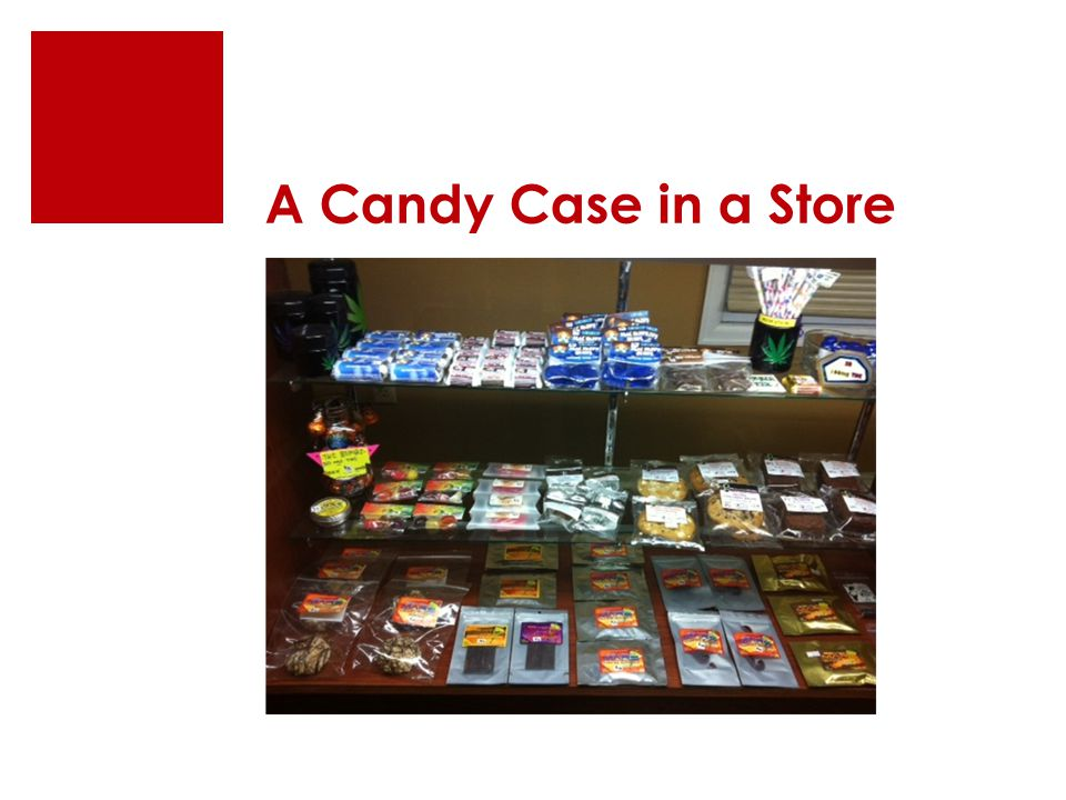 A Candy Case in a Store