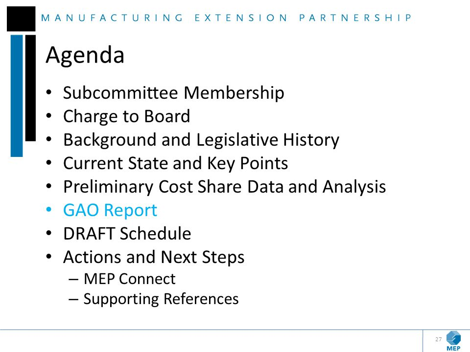 Agenda Subcommittee Membership Charge to Board Background and Legislative History Current State and Key Points Preliminary Cost Share Data and Analysi