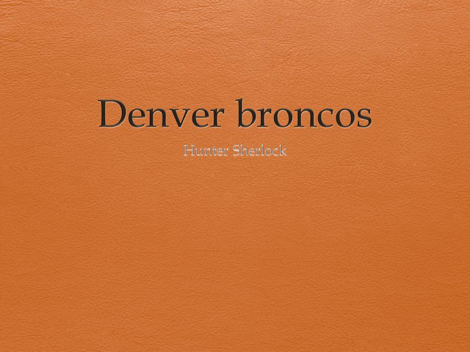 2 Champion Stats Mile High Stadium All-star Quarterbacks The Orange crush Denver Broncos