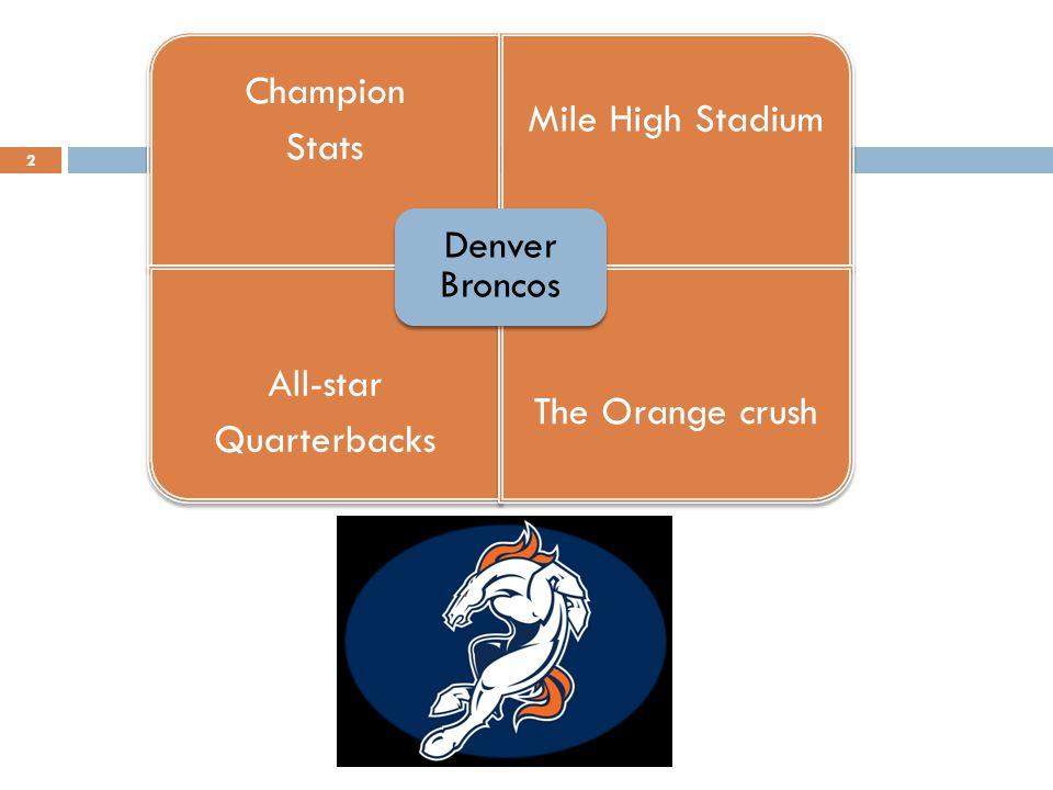 Denver Stats 3 http://www.nfl.com/teams/statistics?team=DEN