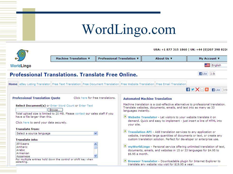 WordLingo.com