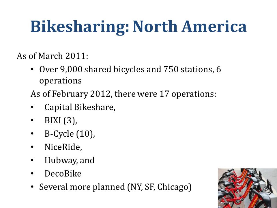 Marketing Strategies Pre-launch marketing strategies for bikesharing are becoming increasingly popular.