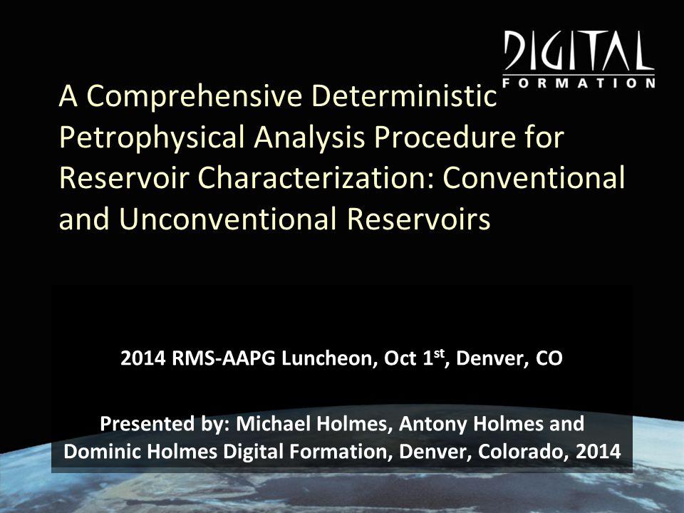 Rock Physics Model and Mechanical Properties Raw Log DTDTS/DTDTSDensityNeutron