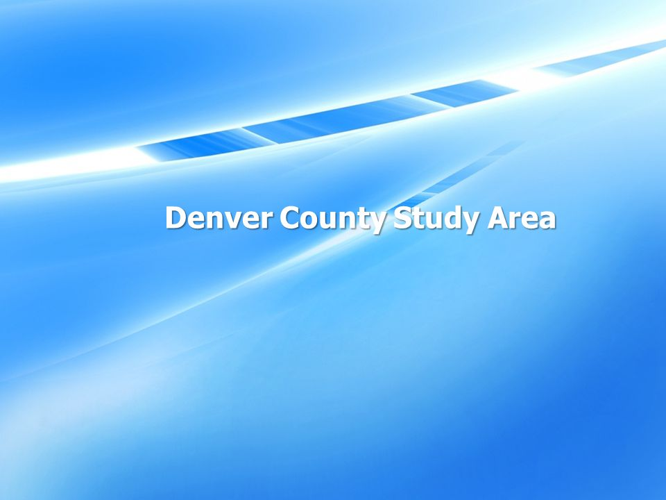 Denver County Study Area