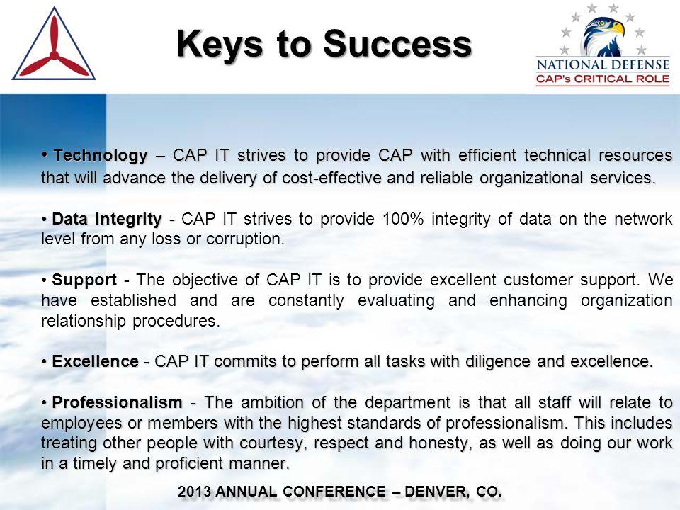 National IT Committee National IT Committee 2013 ANNUAL CONFERENCE – DENVER, CO.