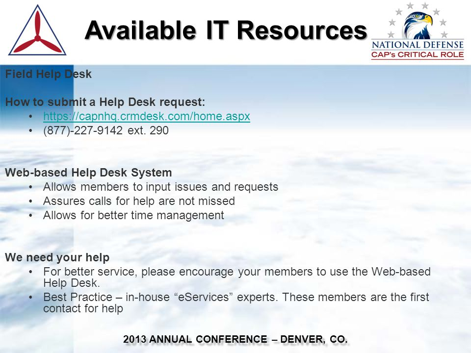 Data Security 2013 ANNUAL CONFERENCE – DENVER, CO.