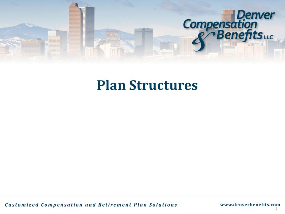 Plan Structures 8
