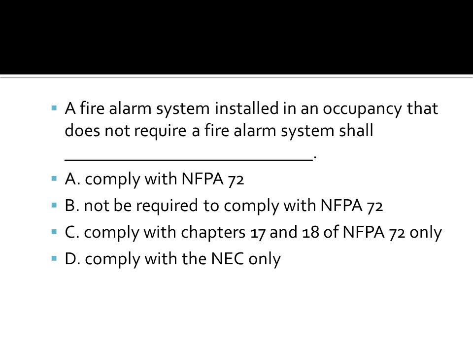  2500 NFPA 72 27.5.2.1.2