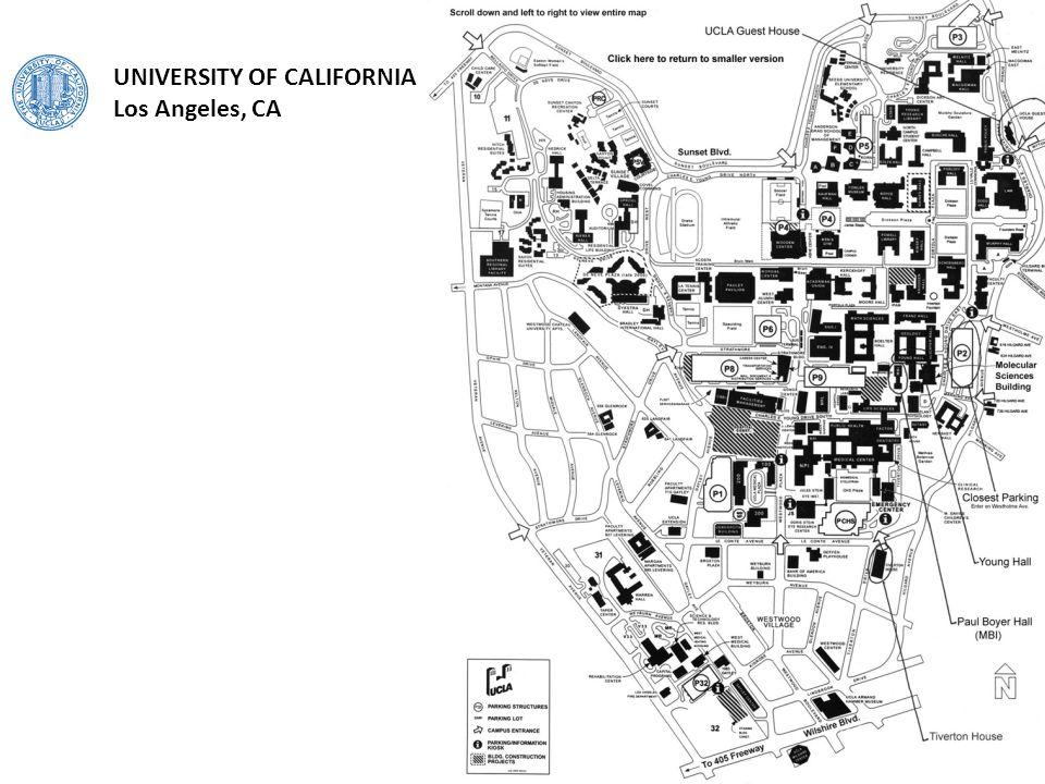 UNIVERSITY OF CALIFORNIA Los Angeles, CA