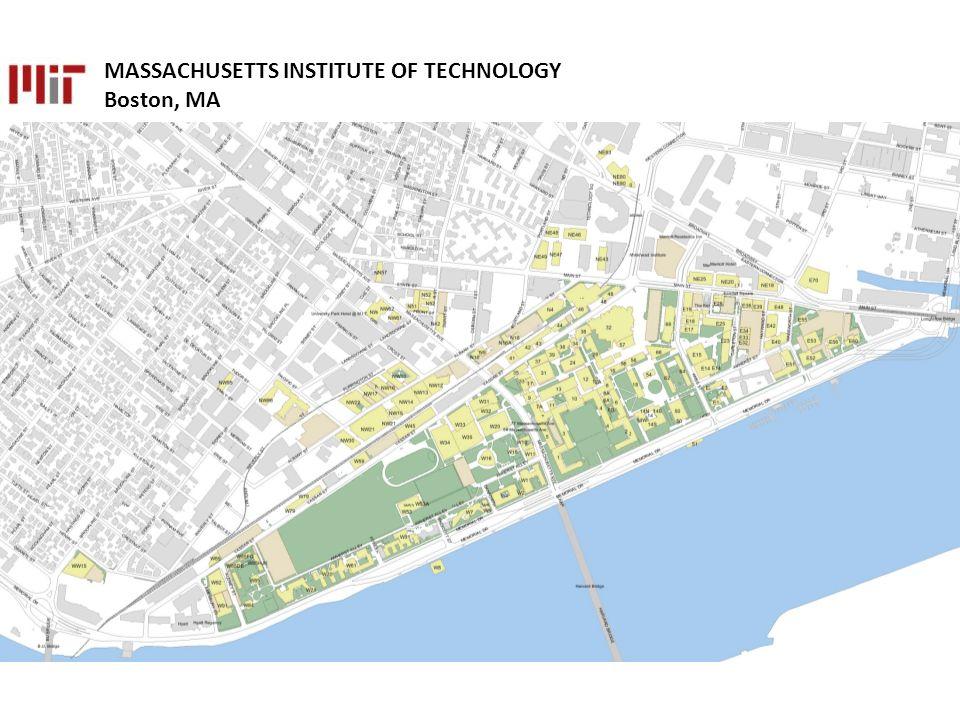 MASSACHUSETTS INSTITUTE OF TECHNOLOGY Boston, MA