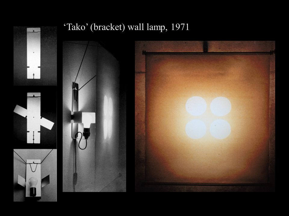 'Tako' (bracket) wall lamp, 1971