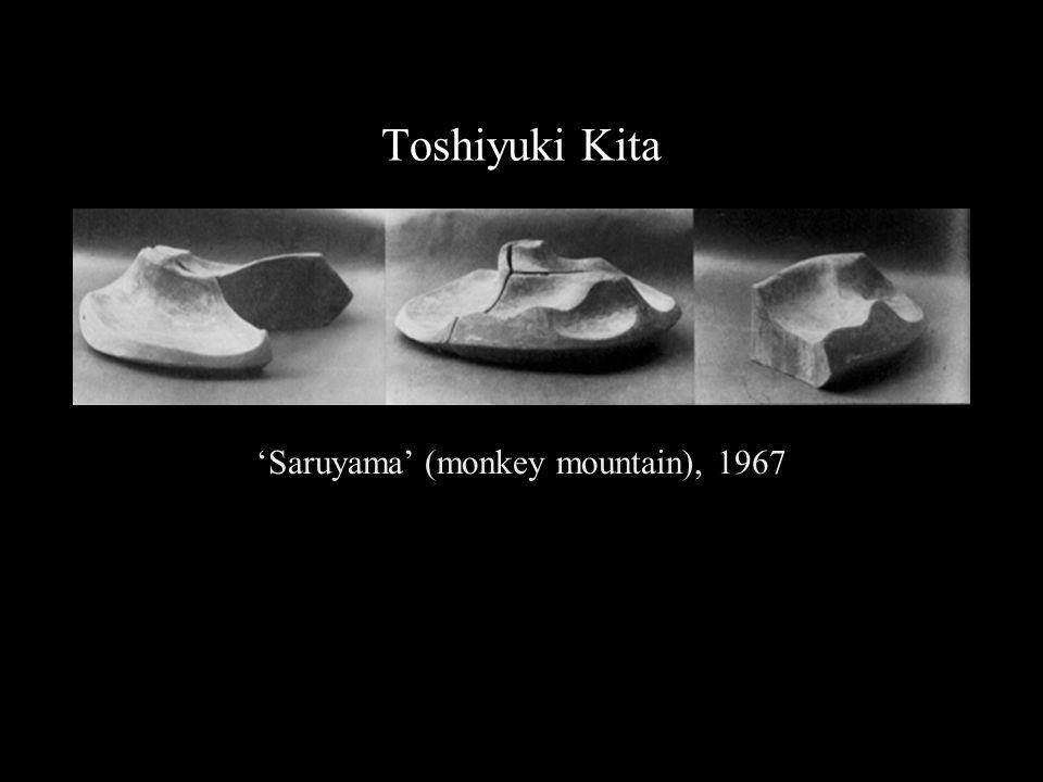 Toshiyuki Kita 'Saruyama' (monkey mountain), 1967