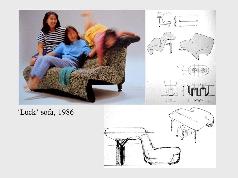 'Luck' sofa, 1986