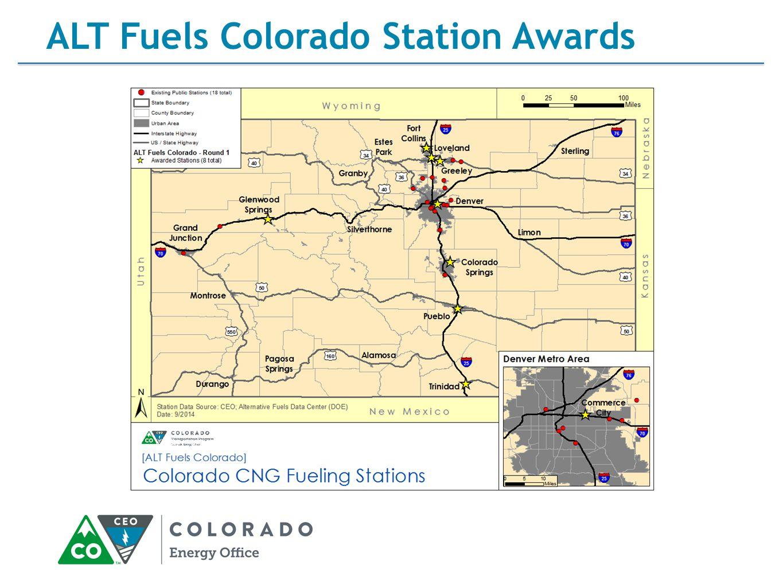 ALT Fuels Colorado Station Awards