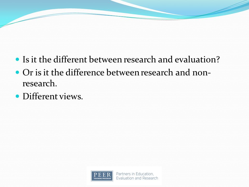 Program Evaluation: Research Examples A Comprehensive Evaluation for Project DIRECT (Diabetes Intervention: Reaching and Educating Communities Together) - Project DIRECT is a community diabetes demonstration project targeting African American adults residing in Raleigh, North Carolina.