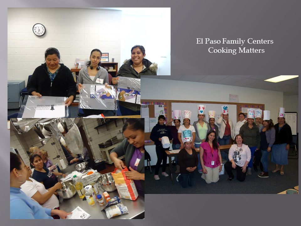 El Paso Family Centers Cooking Matters