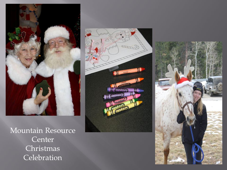 Mountain Resource Center Christmas Celebration