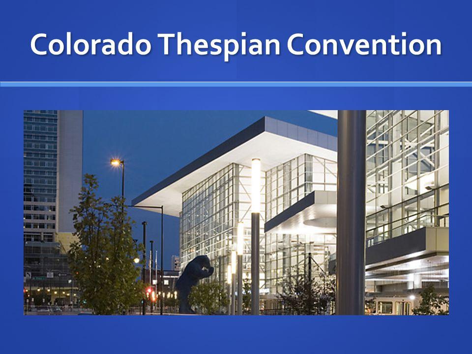 Colorado Thespian Convention