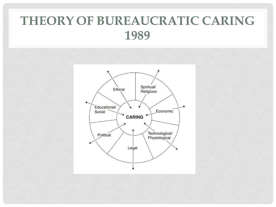 THEORY OF BUREAUCRATIC CARING 1989