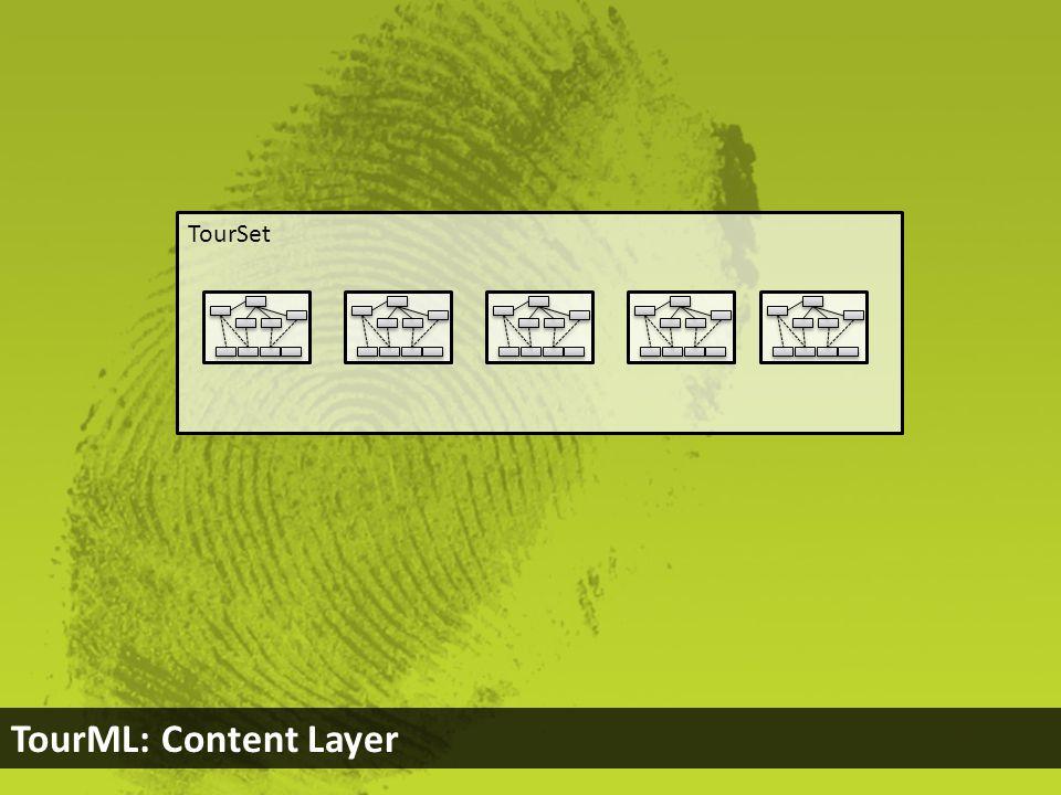 TourSet TourML: Content Layer