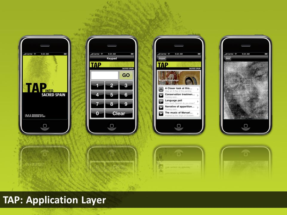 TAP: Application Layer