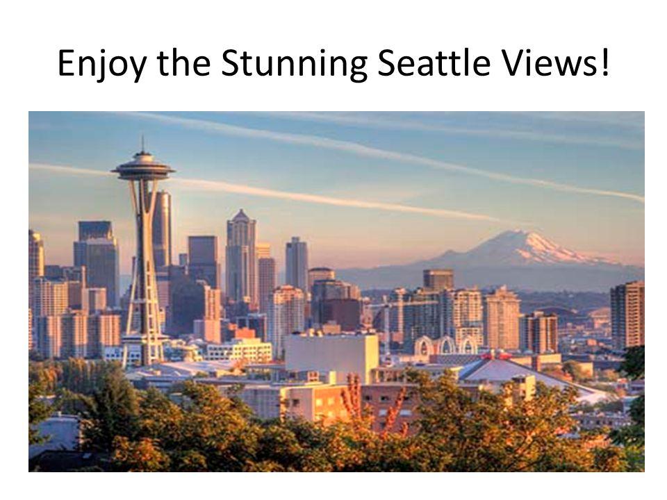 Enjoy the Stunning Seattle Views!