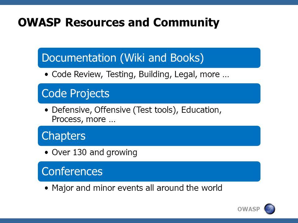 OWASP 8 8 www.owasp.org