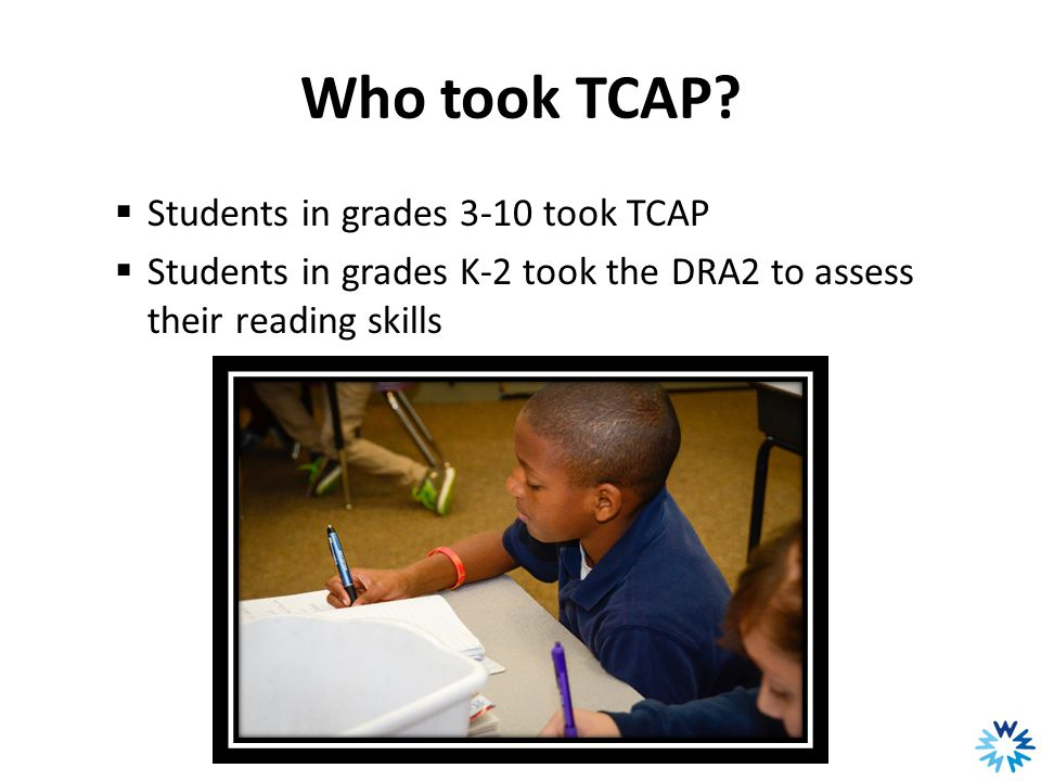 Who took TCAP.