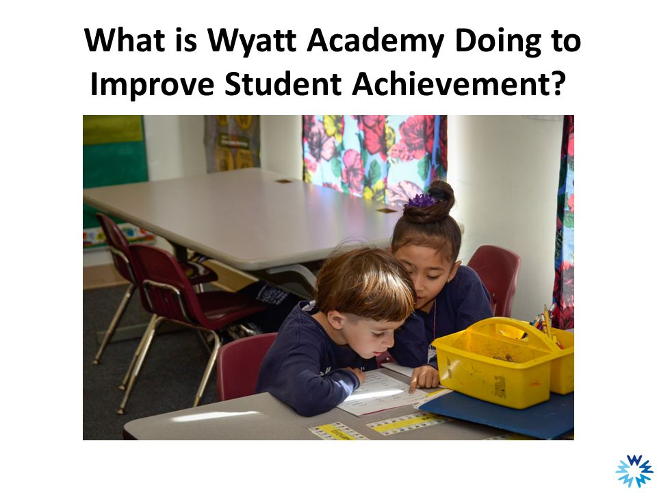 What is Wyatt Academy Doing to Improve Student Achievement?