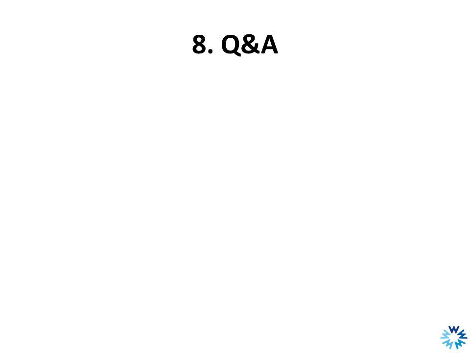 8. Q&A