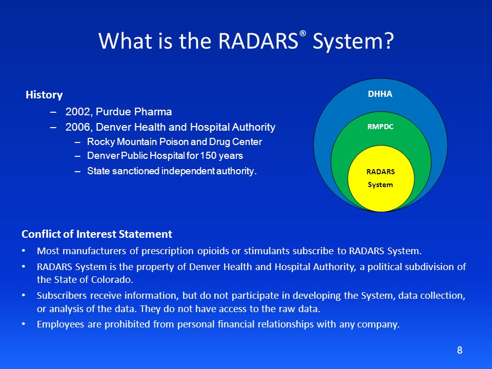 What is the RADARS ® System.