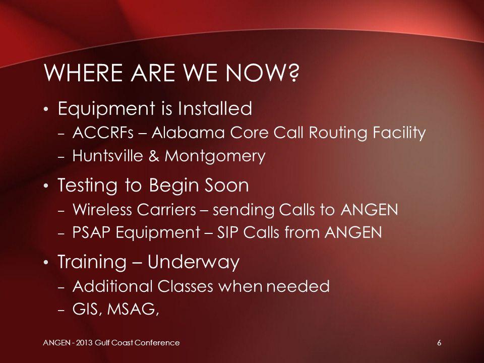 Ray Paddock Vice President, Emergency Product Portfolio INETWORK ANGEN - 2013 Gulf Coast Conference17