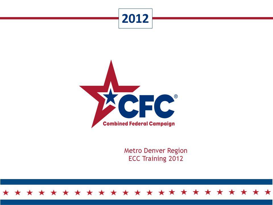 2012 Metro Denver Region ECC Training 2012