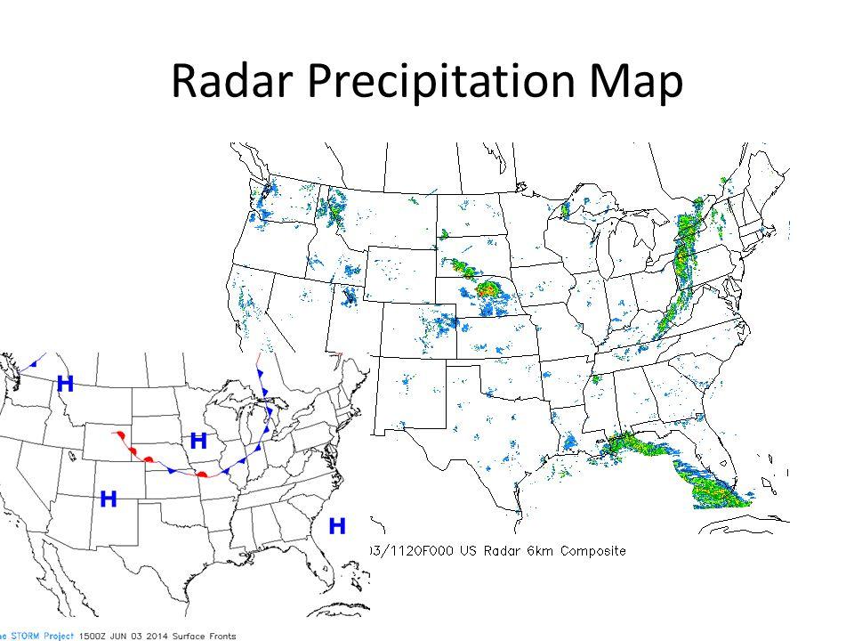 Radar Precipitation Map