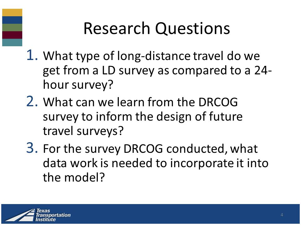 Research Questions 4 1.