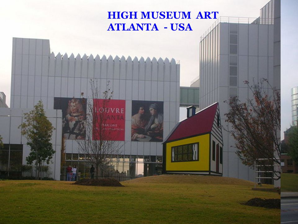 HIGH MUSEUM ART ATLANTA - USA